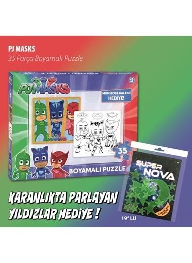Pj Masks PJ Masks Puzzle Boyamalı 35 Parça Renkli